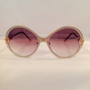 Shamballa Sunglass Divinity Gold Matte & leather